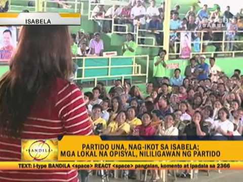 UNA visits Isabela, denies campaigning