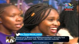 Download Video Nairobi girls chorale perform 'Nishike mkono Bwana' #theTrend MP3 3GP MP4