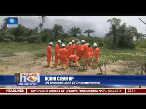 Ogoni Clean Up: UN Inspects Level Of Implementation