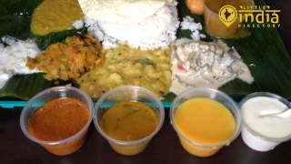 South Indian Thali - An Introduction to Indian Vegetarian Food
