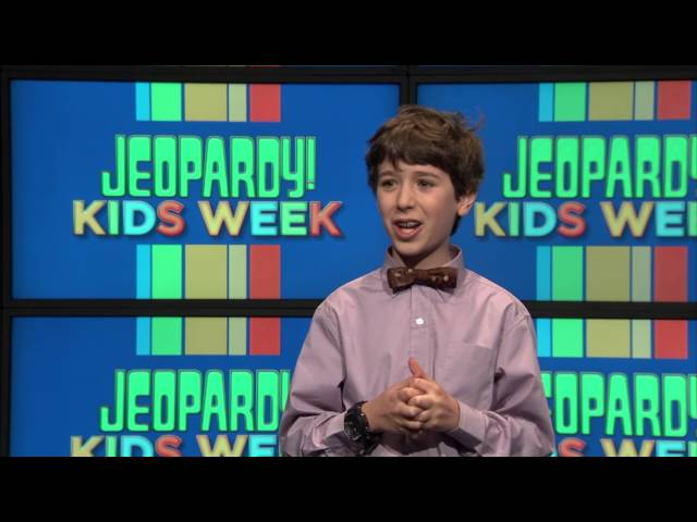 Meet the 11-Year-Old Kid Who's Competing on 'Jeopardy!' - Upper West