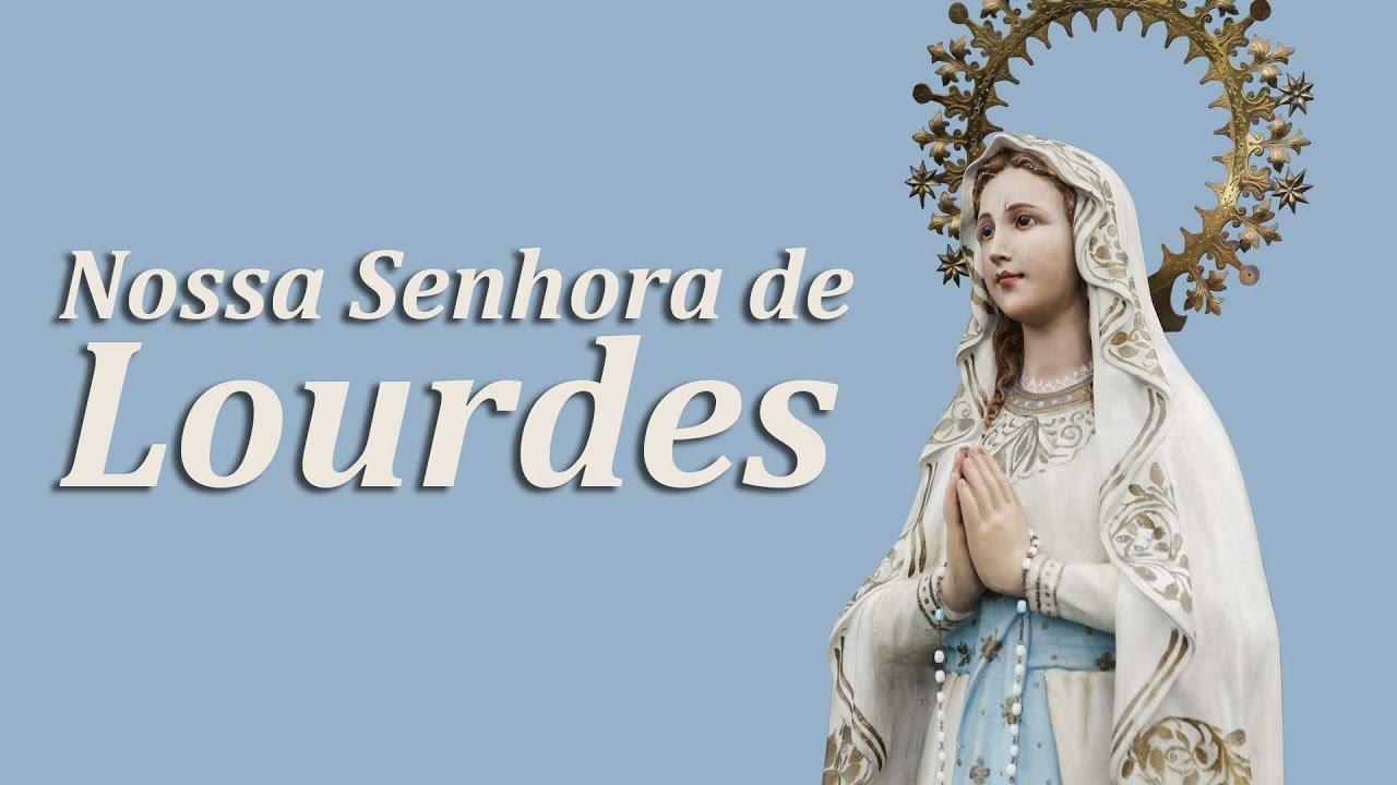 Resultado de imagem para Nossa Senhora de Lourdes
