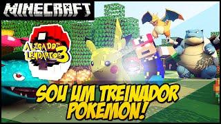 Minecraft - LIGA DOS LENDÁRIOS - REZENDE, O TREINADOR POKEMON! #1