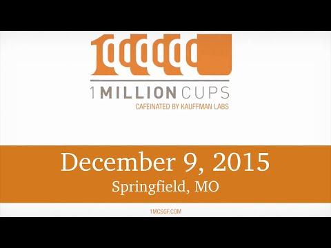 1 Million Cups--Springfield--Equality Healthcare & SpringNet Broadband--Jan 6, 2016