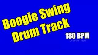 Boogie Shuffle Drum Tracks - 180 BPM Drum Tracks - Boogie Shuffle