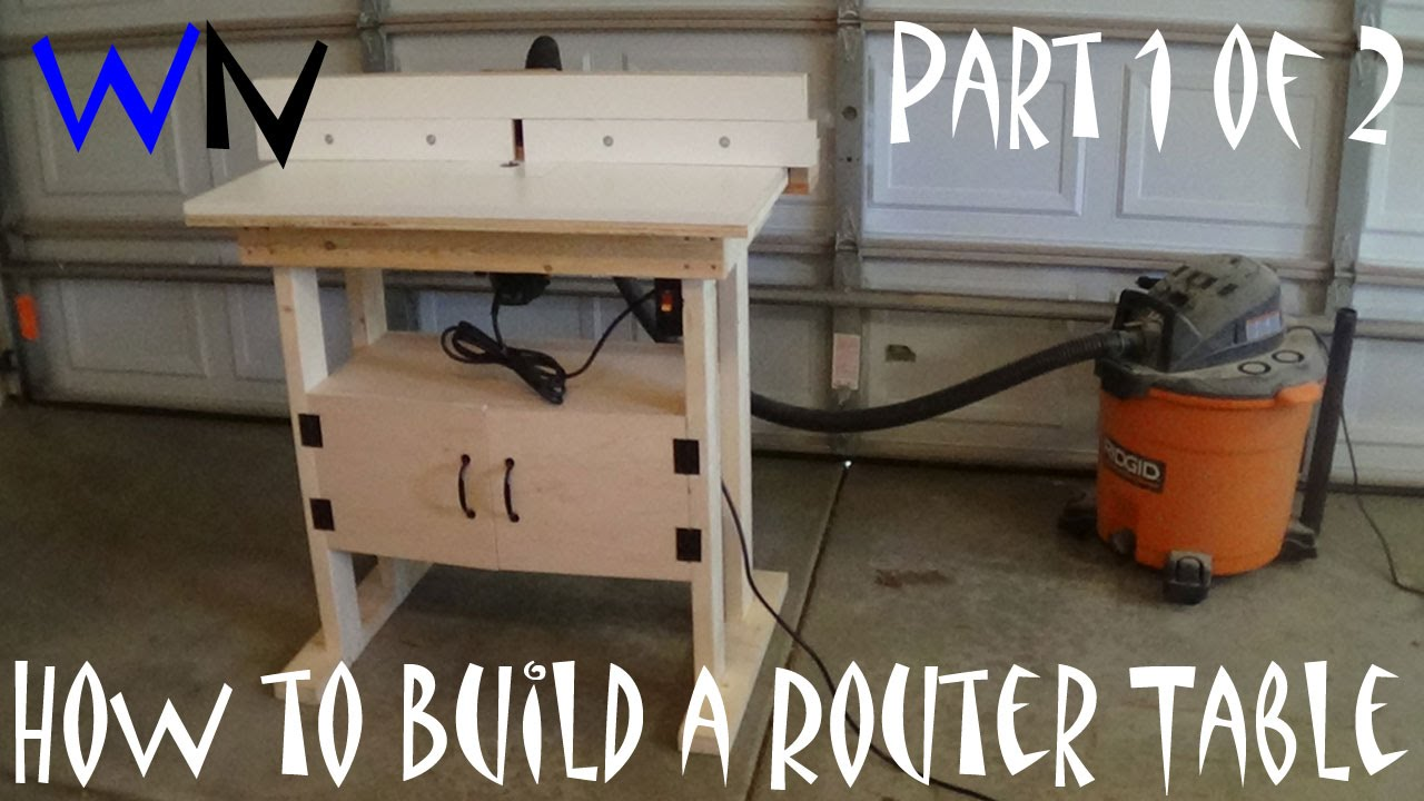 How to build a 100 router table part 1 of 2 youtube for How to make a router table