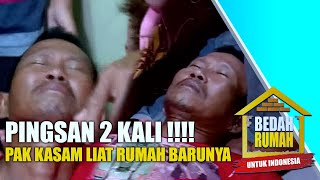 Pingsan 2 Kali! Pak Kasman Lemas Lihat Rumah Barunya  | BEDAH RUMAH EPS.25 (4/4)