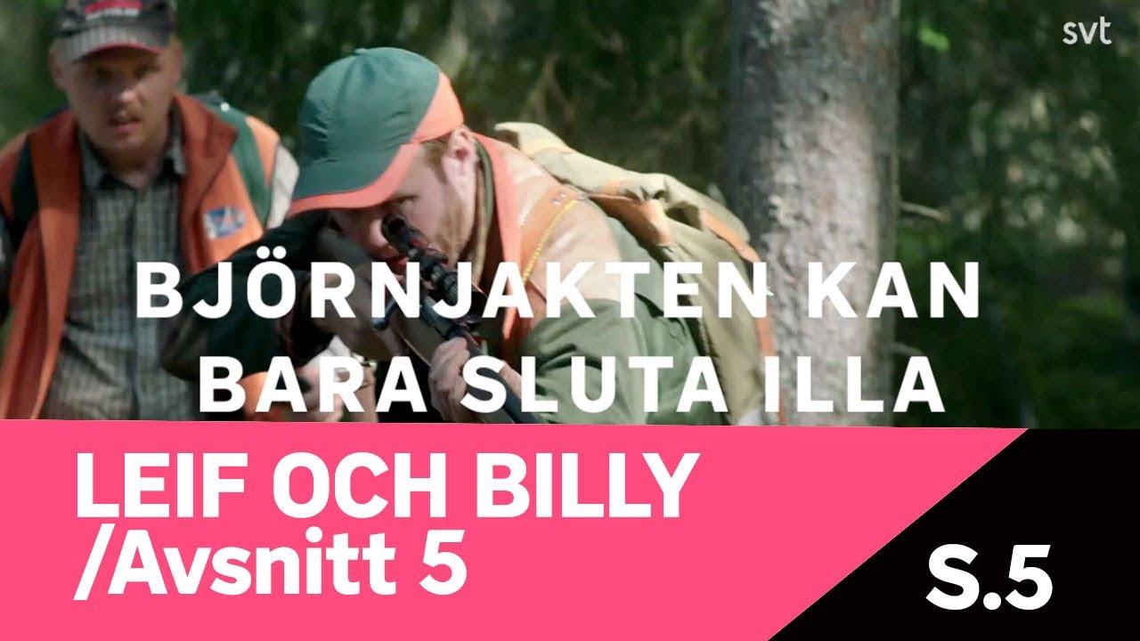 Leif och Billy - Björnjakten kan bara sluta illa