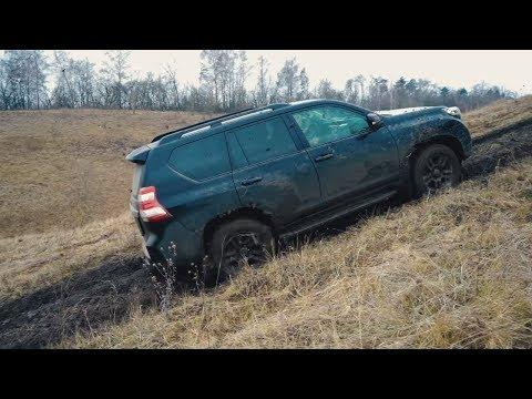 Toyota Prado НА ЦЕПЯХ.  Миф про езду в натяг на Паджеро , Jeep Grand Cherokee , Рено Дастер, Прадо