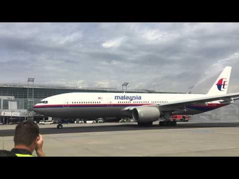 Last Flight Malaysian Frankfurt to Kuala Lumpur MH5
