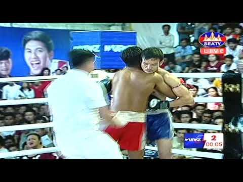 Kun Khmer, រឿង សារ័ត្ន Vs ថៃ, Roeung Saroth Vs Kengkat (Thai), SEATV boxing 18-11-2018 | Fights Zone