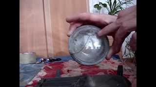 ремонт трещин на стекле туманки тойота приус - toyota prius