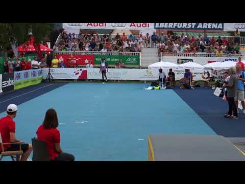 High Jump - Eberstadt 2017 - Mutaz Essa Barshim - 2.40m - 27.08.2017
