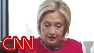 Watch Hillary Clinton read part of Mueller report