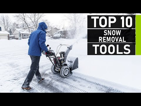 Top 10 Incredible Snow Removal Tools & Equipment