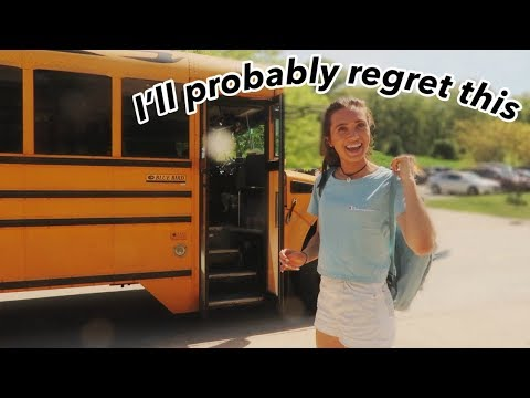 "a ""i'm done with high school"" vlog 