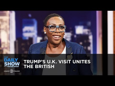 Trump's U.K. Visit Unites the British | The Daily Show thumbnail