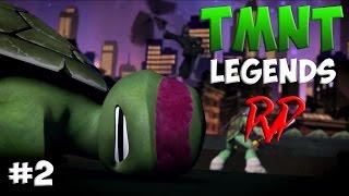 Черепашки-Ниндзя: Легенды ТУРНИР #2 (TMNT Legends PVP IOS Gameplay 2016)