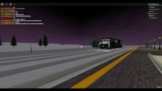 ROBLOX Norfolk Southern Locomotive At Hampton Railroad.