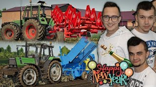 """Happy New Year  Podsumowanie Roku 2019  Orka & Kopanie Ziemniaków  """"Sąsiedzi"""" FS19 #38"""