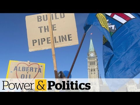 Pro-pipeline protest convoy reaches Parliament Hill
