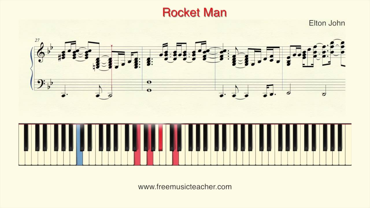 How to play piano elton john rocket man piano tutorial by ramin how to play piano elton john rocket man piano tutorial by ramin yousefi hexwebz Choice Image