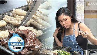 Hwasa Makes Four People Drool With Gopchang [Home Alone Ep 247]