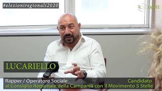 Intervista al rapper Lucariello per le Elezioni Regionali della Campania
