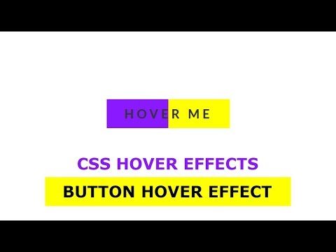 Button With Awesome Hover Effect Using Only HTML & CSS