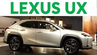 2018 New York Auto Show: 2019 Lexus UX | Consumer Reports