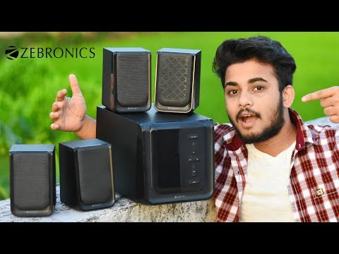 ZEBRONICS PRISTINE 4.1 Home Theater Multimedia Speakers Review