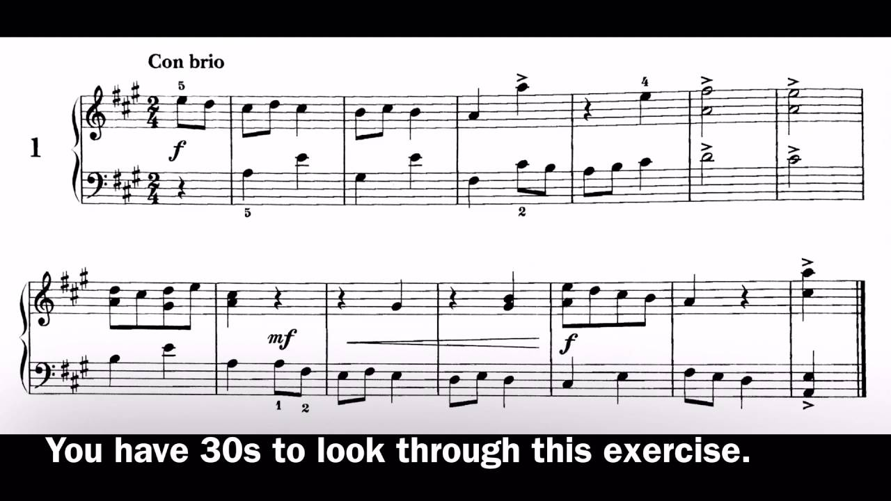 Clarinet Grade 6 Improve your sight-reading!