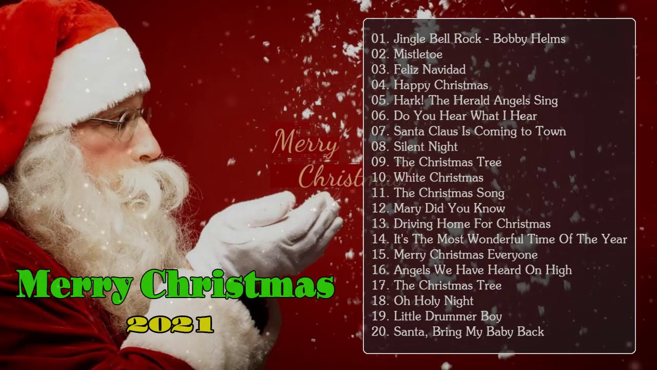 Best Old Christmas Songs 2021 Medley - Old Christmas Songs Of All Time - Merry Christmas 2021.