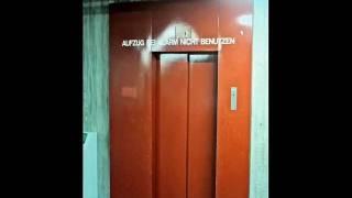 1975 Hopmann / 1982 Thyssen elevators at Albert-Einstein-Gymnasium St. Augustin, Germany