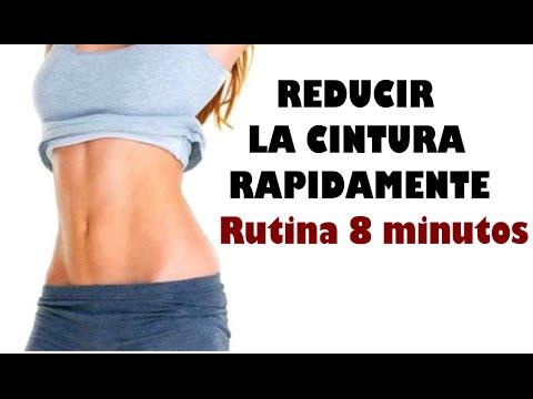 Como reducir cintura y abdomen rapidamente