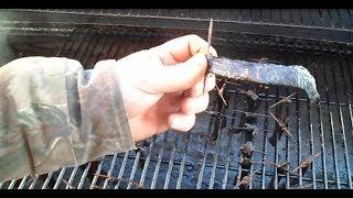 Cut & Smoke Your Own Deer Jerky (part 1 Of 2) (hd)