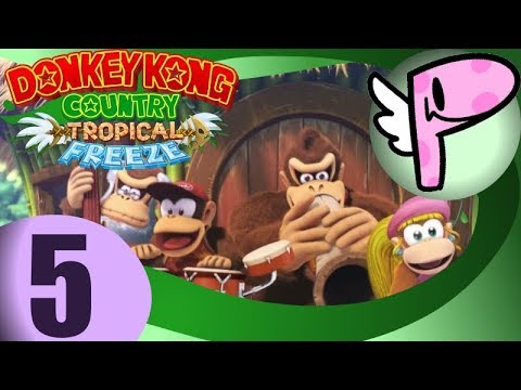 Donkey Kong Country: Tropical Freeze (pt.5 END)- Full Stream [Panoots] + Art