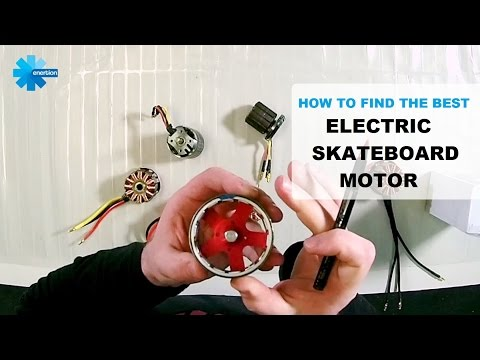 How to Choose the best electric skateboard motor | Brushless Outrunner