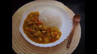 Корейская кухня: карэ райсы (카레라이스) или рис с соусом карри