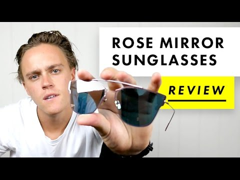 Rose Mirror Sunglasses Review | AliExpress