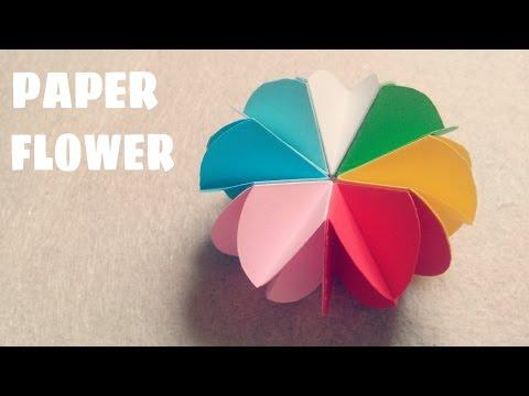 DIY - Cách làm hoa bằng giấy vô cùng đơn giản