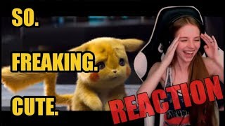 POKÉMON DETECTIVE PIKACHU - TRAILER #1 REACTION