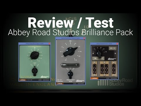 Review: Abbey Road Studios Brilliance Pack by Softube