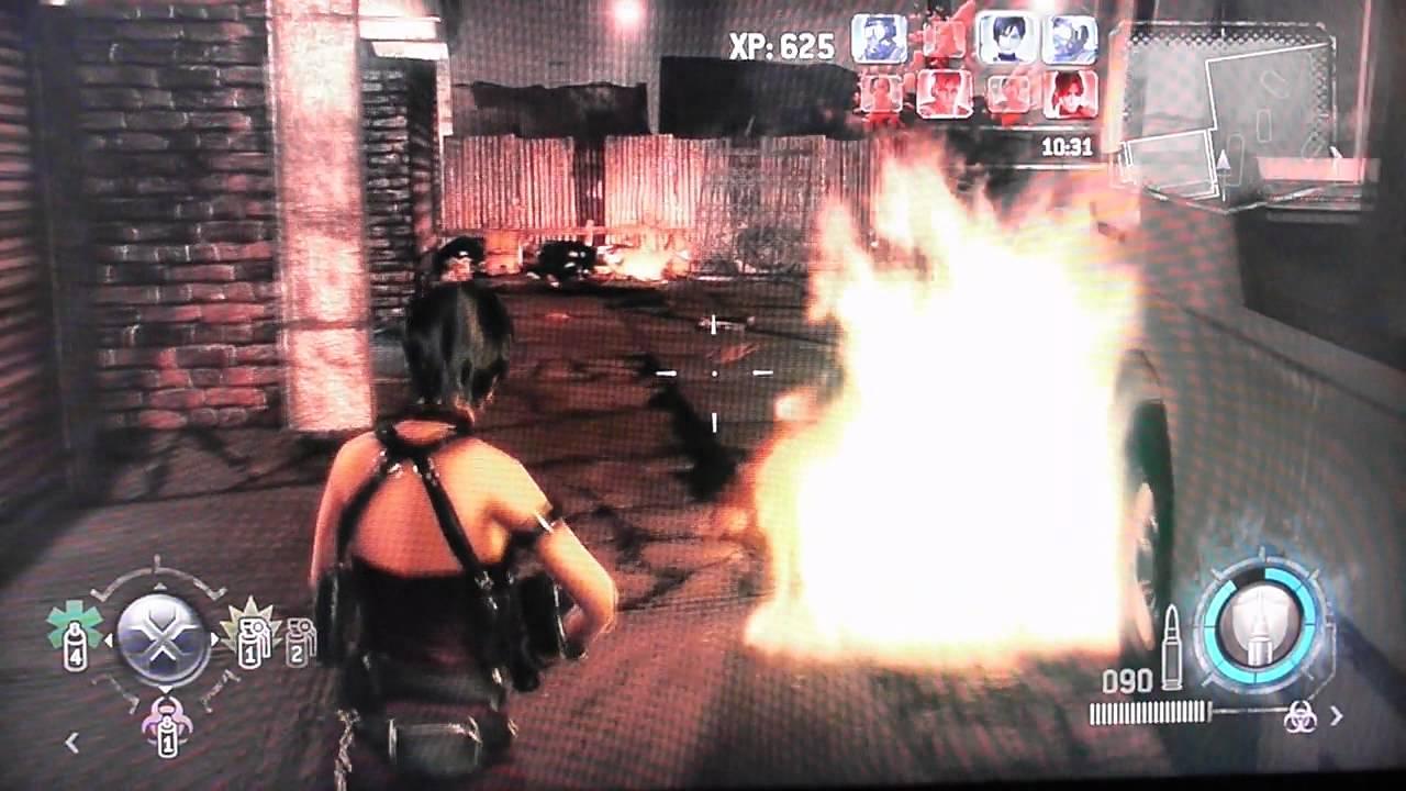 Resident Evil Operation Raccoon City Versus Heroes Mode Ada Wong