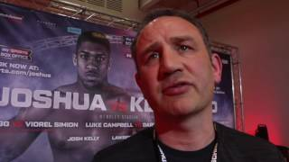 'THIS IS WHAT BOXING IS ABOUT. YOU HAVE TO ROLL THE DICE' - ROB McCRACKEN ON JOSHUA-KLITSCHKO