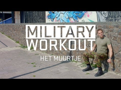 Urban training met een muurtje | Trainen als een militair | Military Workout #5