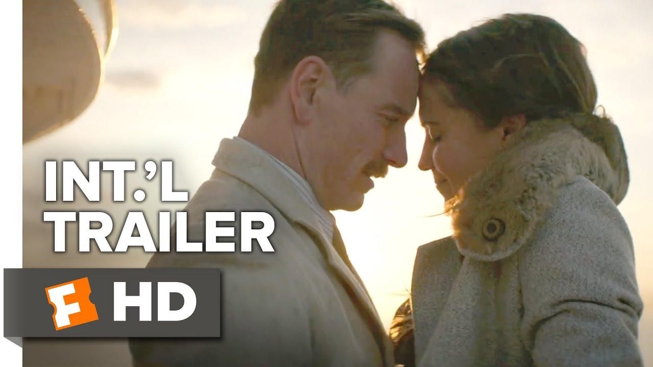 The Light Between Oceans Official International Trailer #1 (2016)   Michael  Fassbender Movie HD   YouTube