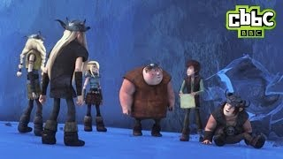 Catch this dramatic sneak peek where Hiccup and the riders are on d...