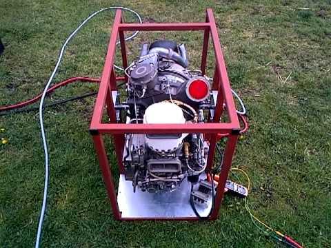 Williams WR27 aircraft gas turbine APU test run SORRY NO FLAMES!