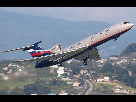 Ту-154, 70 секунд полёта. Трудное для взлёта небо Сочи